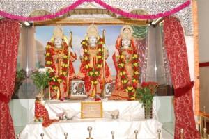 Shree Ram, Sitaji, Laxman and Humanji