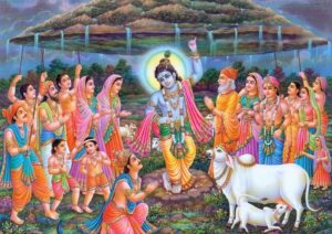 krishna-lifts-govardhan-parvat-happy-govardhan-puja