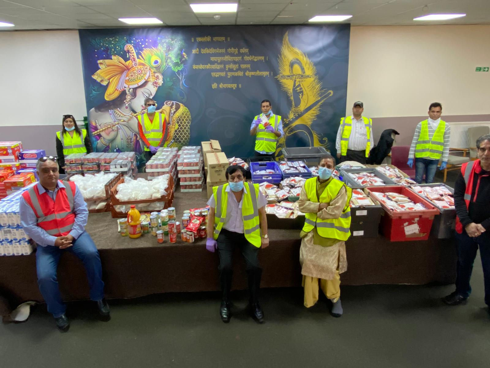 All the food that we either purchase or is donated by local community and business is help together to sorted and packed for individual parcels.e